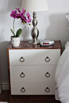 Ikea rast hack - I'm cheap, may need to look into doing something like this for new dressers.