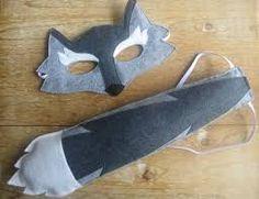 wolf masker vilt - Google zoeken