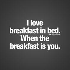 Sweetness! Thank you for being/ bringing me breakfast everyday Mr.B! Yummmmmy!❤