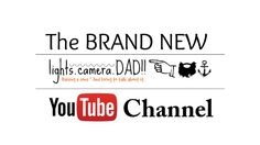 The Lights, Camera, DAD!! YouTube Channel!! #photography #youtube #tutorial #photographyhelp Light Camera, Channel, Dads, Lights, Youtube, Pretty, Watch, Check, Photography