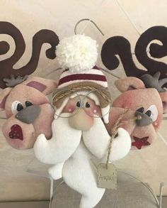 Natale | Categorie prodotto | Country Creations Primitive Christmas, Halloween Christmas, Felt Christmas, Homemade Christmas, Christmas Stockings, Christmas Holidays, Christmas Crafts, Merry Christmas, Christmas Decorations