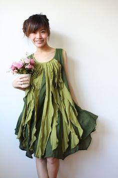 Be cheery with Emerald Green Dress   All the snow that has fallen won't stop me from thinking spring!