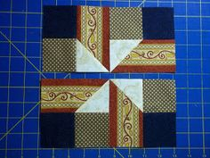 Chock-A-Block Quilt Blocks: White House