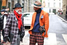 Street looks Fashion Week homme automne-hiver 2013-2014 Milan - Jour 3