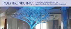 Polytronix - creative design ideas for architects and technical innovators www.polytronixglass.com