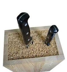 wooden skewers in a box!