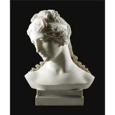 'A bust of Venus' by Emil Wolff via Sotheby's. Italian Sculptors, Old Coins, Magazine Art, Drawing, Sculpture Art, Sculpting, Concept Art, Statue, Fine Art