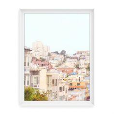 San Francisco 2 (Rooftops) // Fine Art Giclée Print // Photography