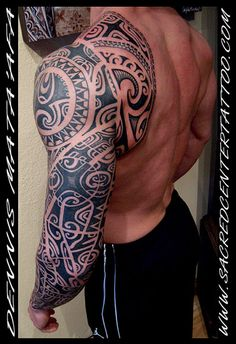 A little too dark, but great designs Tribal Forearm Tattoos, Tribal Sleeve Tattoos, Sun Tattoos, Life Tattoos, Body Art Tattoos, Tattoos For Guys, Tattos, Polynesian Tattoo Designs, Maori Tattoo Designs