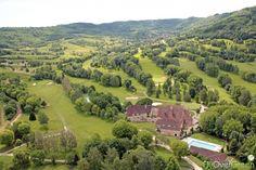 Golf du Val de Sorne, Jura, Bourgogne-Franche-Comté, France. Vidéo aérienne sur FlyOverGreen / Aerial video on FlyOverGreen