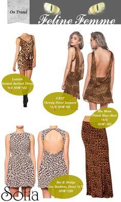 Leopard prints! @unif