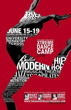 Dance Camp Poster  v111