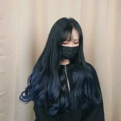 Her hair is a dream❤ Dyed Hair Ombre, Dye My Hair, Ombre Hair Color, Pretty Hairstyles, Girl Hairstyles, Hair Inspo, Hair Inspiration, Pelo Color Azul, Mode Ulzzang