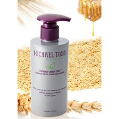 Michael Todd True Organics Honey and Oat Gentle Deep Pore Cleanser