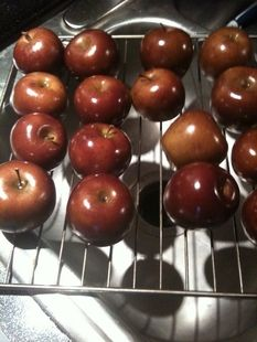 Smoked apple butter--have to try this.