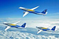 Embraer vendeu nove jatos comerciais no terceiro trimestre de 2016 -     AEmbraerregistrou a venda de nove jatos comerciais por quatro clientes diferentes entre julho e setembro deste ano. A United Airlines encomendou um E-175 e a Japan Airlines, um E190. A chinesa Colorful Ghizhou fechou negócio com dois E190 que serão entregues no ano que vem. A maior  - http://acontecebotucatu.com.br/geral/embraer-vendeu-nove-jatos-comerciais-no-terceiro-trimestre-de-2016/