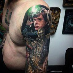 Star Wars tattoo by Jesse - Emerald Tattoo Elk Grove