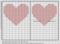 Image result for knitting heart pattern