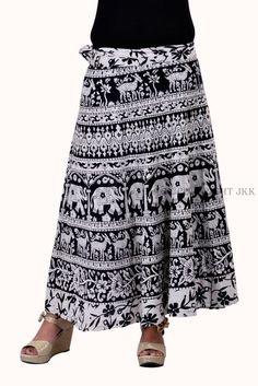 Skirt Indian Women Printed White Wrap Around Cotton Calf Long Skirt Cotton Skirt, Lace Skirt, Midi Skirt, Sequin Skirt, Wrap Around Skirt, Calves, Women Wear, Indian, Womens Fashion