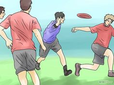 How to Play Ultimate Frisbee - Could use a rubber chicken, ball, etc instead of a frisbee to make it easier for younger children to toss and catch.  Great outdoor game!