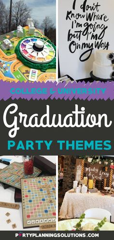 Sure, a lot of people get college degrees these days, but that doesn't mean that you shouldn't celebrate. Many times college graduation parties entertain a smaller crowd, which means that you can go big with the theme! #graduationparty #gradpartyideas #graduationpartyideas #gradparty #themeparty #partythemes