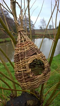 Willow Birdhouse-Bird House  Nest Box by WondersofWillow on Etsy