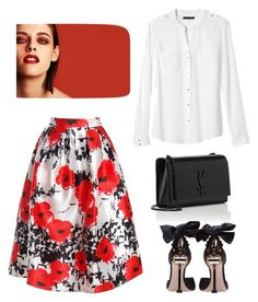 """""""Cover 3"""" by huldinhared on Polyvore featuring moda, Banana Republic, Sans Souci, Miu Miu, Yves Saint Laurent e Chanel"""