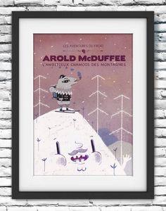 AROLD McDUFFEE l'ambitieux chamois des montagnes