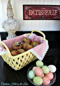 Spring Home & Garden Muffins and Eggs