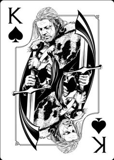 Playing Cards - King Of Spades, Eddard, Game Of Thrones Playing Cards by Paul Nojima, Time Void - playingcards, playingcardsart, playingcardsforsale, playingcardswithfriends, playingcardswiththefamily, playingcardswithfamily, playingcardsgame, playingcardscollection, playingcardstorage, playingcardset, playingcardsfreak, playingcardsproject, cardscollectors, cardscollector, playing_cards, playingcard, design, illustration, cardgame, game, cards, cardist
