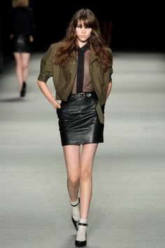 Saint Laurent Spring 2014 Ready-to-Wear Fashion Show - Grace Hartzel (Next)