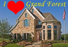 Grand Forest by Grand Homes at Chadwick Farms Safari, New Condo, Castle House, New Home Communities, Grand Homes, Custom Built Homes, New Home Builders, First Time Home Buyers, New Homes For Sale
