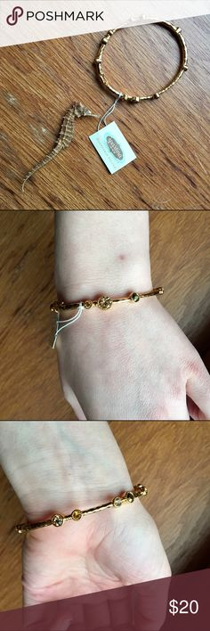 Spartina Gold Bangle (real gold) A very cute accessory by itself or layered. Gold-plated. Spartina Jewelry Bracelets