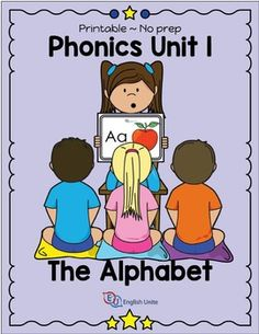 WORKBOOK UPDATED ON 23 JUNE 2016.This unit is part of a six-part phonics course. Unit 1 focuses on pronunciation and letter recognition. The unit includes 26 flash cards and a workbook. The workbook contains 26 writing worksheets, and 12 letter group worksheets.
