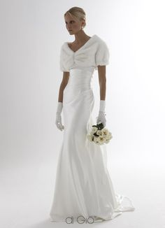 weddings dresses for over 40 | Each wedding dress is made to measure in Italy with 100% Italian pure ...