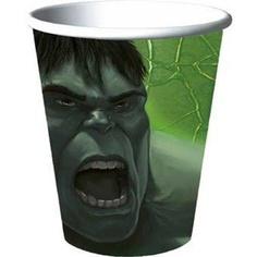 Incredible Hulk Paper Cups 8ct by HALLMARK MARKETING CORPORATION, http://www.amazon.com/dp/B0016AW6KA/ref=cm_sw_r_pi_dp_D6Tlrb1N1MDWB