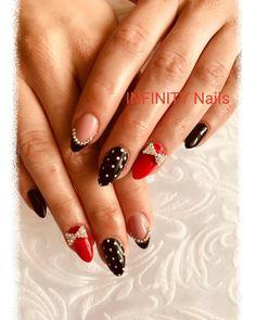 Infinity Nails, Beauty, Jewelry, Jewlery, Jewerly, Schmuck, Jewels, Jewelery, Beauty Illustration