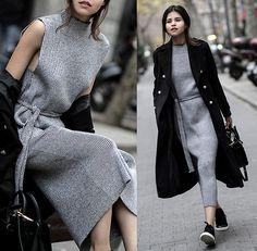 Adriana Gastélum - Shein Coat, Mansur Gavriel Bag, More Details & More Outfits On - Pause