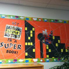 super hero themed classroom