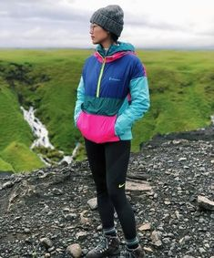 Half Zip Windbreaker, Windbreaker Jacket, Hiking Fashion, Winter Fashion, Fashion Outfits, Trendy Outfits, Girl Outfits, Unisex, Clothes For Women