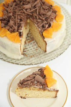 Appelsinkake - My Little Kitchen Little Kitchen, Frisk, Tiramisu, Waffles, Sweet Treats, Baking, Breakfast, Ethnic Recipes, Food