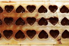 Chocolate molds Homemade Rock Candy, How To Make Chocolate, Making Chocolate, Chocolate Candy Molds, Strawberry Cakes, Peanut Butter Cups, Truffles, Holiday, Desserts