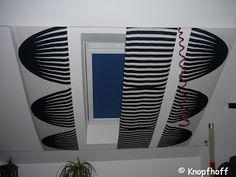 Vorhang-Lösung für Dachfenster