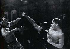 Bloodsport One of my favorite scenes from this movie...Look how high and amazing his leg is!!!