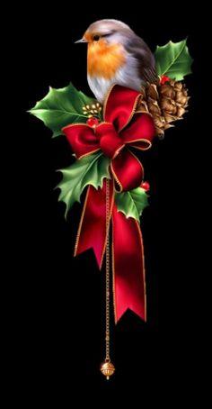 a Christmas World, Merry Christmas Images, Christmas Artwork, Christmas Paintings On Canvas, Vintage Christmas Images, Christmas Drawing, Christmas Scenes, Christmas Animals, Christmas Background