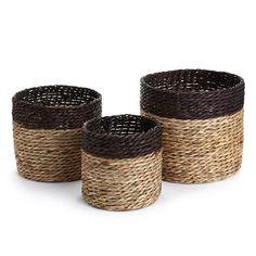 Natural Jute Basket Set