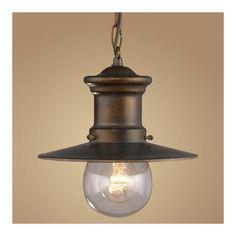 Elk Lighting Maritime 1 Light Outdoor Hanging Lantern