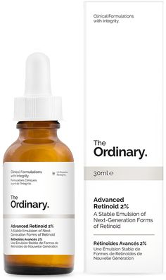 Advanced Retinoid 2% - 30ml - A Stable Emulsion of Next-Generation Forms of Retinoid This formulation combines two forms of next-generation retinoid in a combined concentration of 2% by weight: a) Hydroxypinacolone Retinoate is a highly-advanced form of retinoid that offers a multi-fold better effect against signs of ageing than retinol, retinyl palmitate and nearly all other forms of retinoid; b) a sustained-delivery form of pure retinol in a protective capsule system. Both forms of…