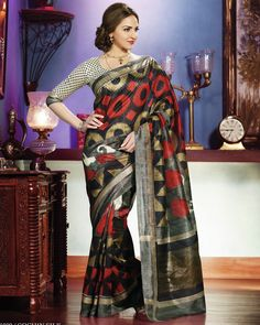 Pothy's ranges of casual wear sarees embody fashionable designs, breezy colour combinations and bold patterns to give you a fresh view of fashion. The range of materials is as diverse as the designs consisting of semi-georgette sarees, semi-chiffon sarees, semi-crepe sarees and much more.
