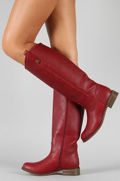 Love this color. Plus, when boots are this cheap, it means we don't have to feel bad about buying more than one.